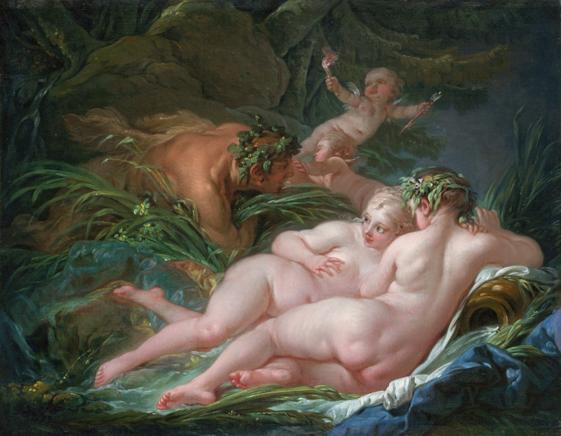 Boucher. Pan and Syrix e Siringa, 1759