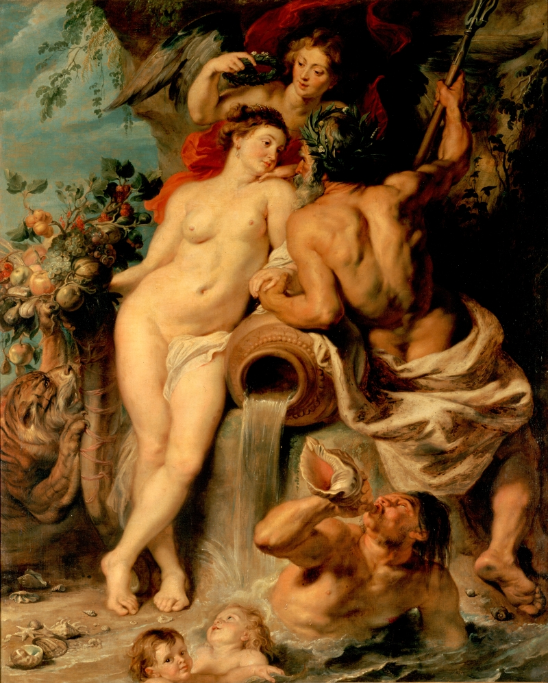 Pieter Paul Rubens. The Union of Earth and Water