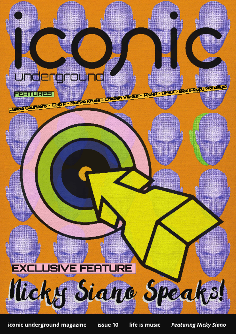 Iconic Underground Issue 10 PRINT