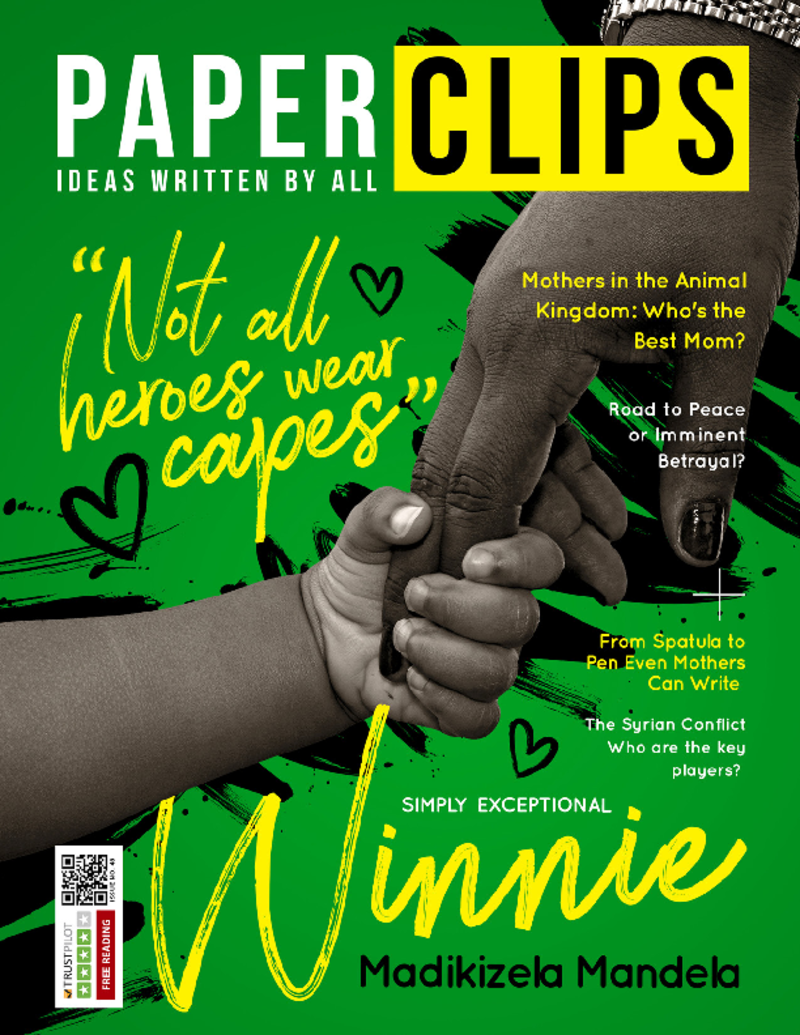Paperclips Magazine Issue #48 - Not All Heroes Wear Capes